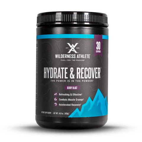 WILDERNESS ATHLETE Hydrate & Recover® TUB 30 servings