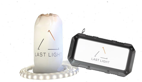 LAST LIGHT 20,000 MAH Power Bank & LED Light Rope Bundle