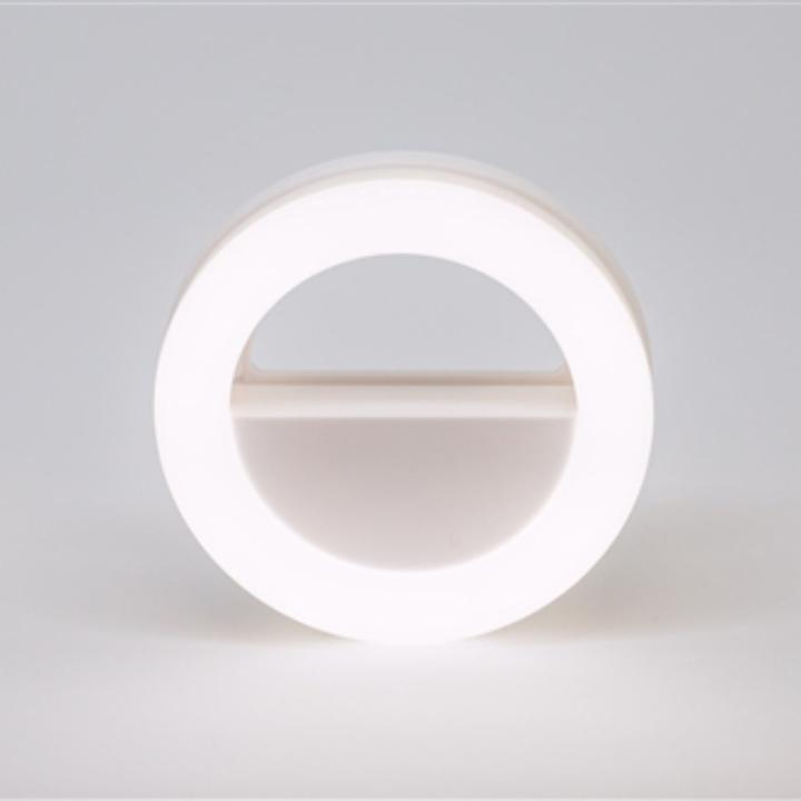 USB Rechargeable Selfie Ring Light