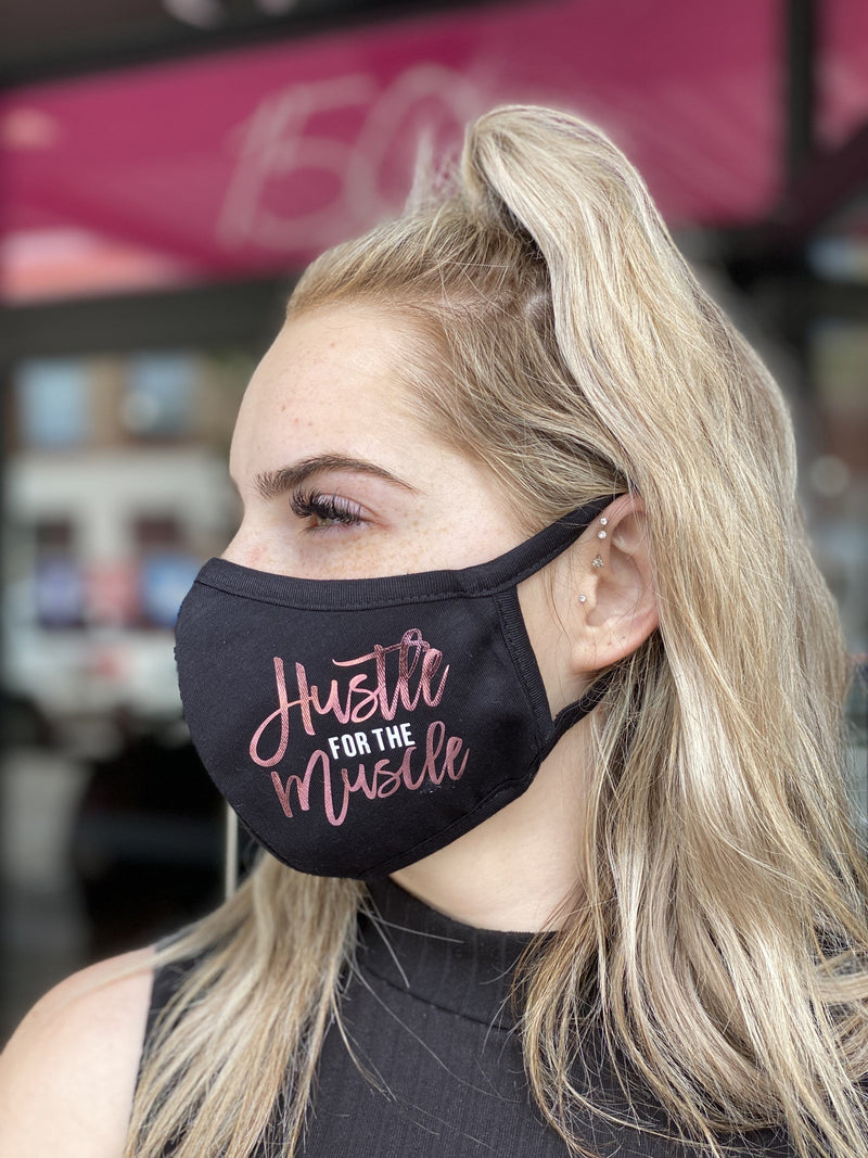 Washable & Reusable Mask - Hustle for the Muscle