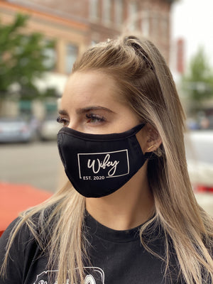 Washable & Reusable 2 Pack Masks - Hubby & Wifey