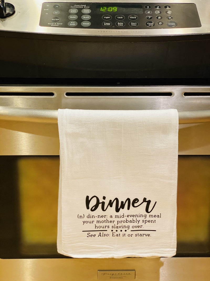 Kitchen Towel - Dinner definition