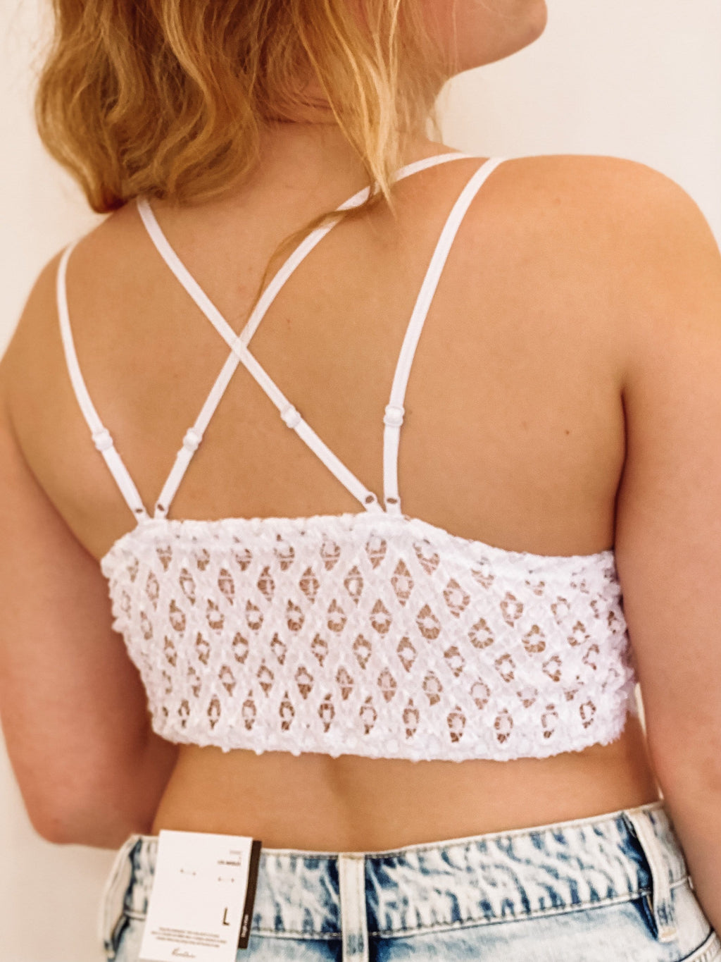 Sweet Nothing Lace Bralette - White
