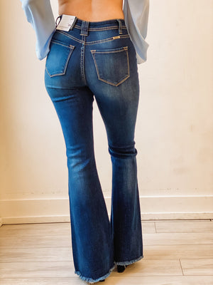 Everly Jeans - Distressed Flare