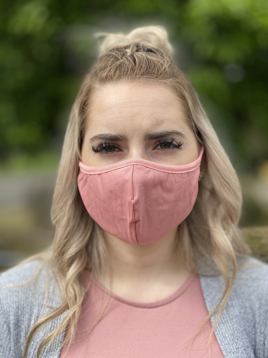 Mask - Solid (dusty pink)