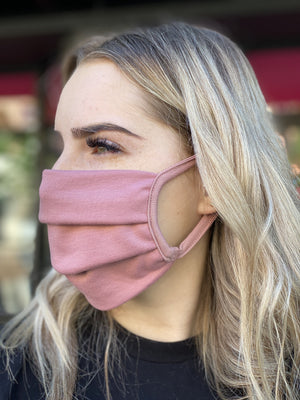 Mask - Solid (mauve)