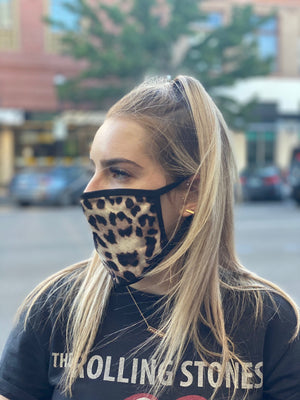 Mask - Leopard (brown)