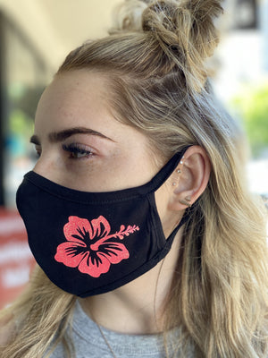 Mask - Hibiscus Flower