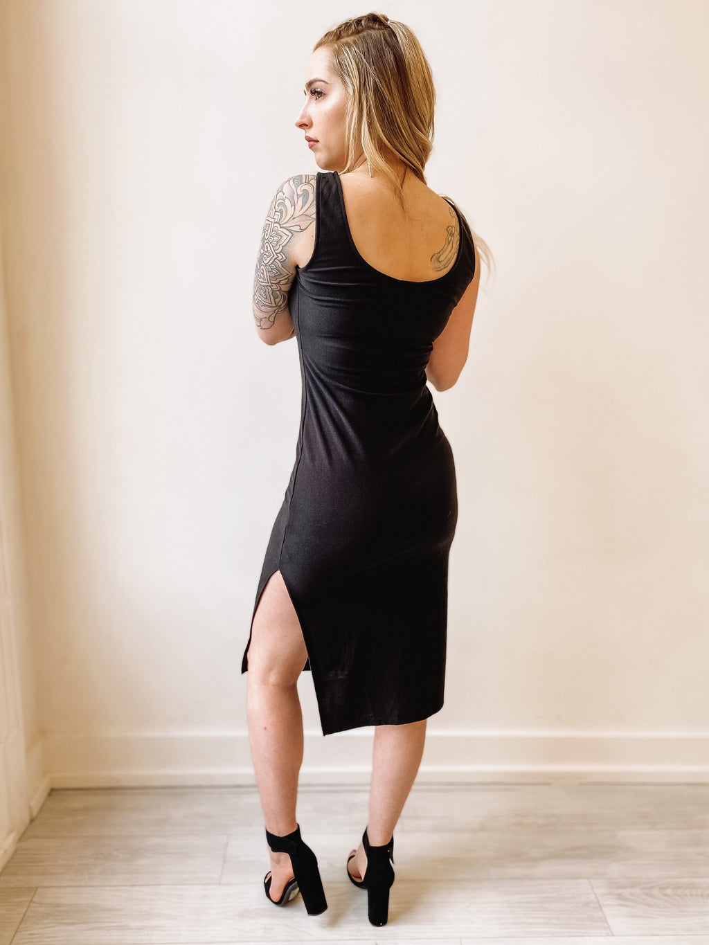 You're My Everything Midi Dress