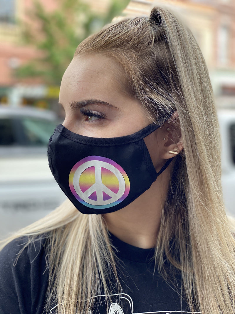 Washable & Reusable Mask - Peace