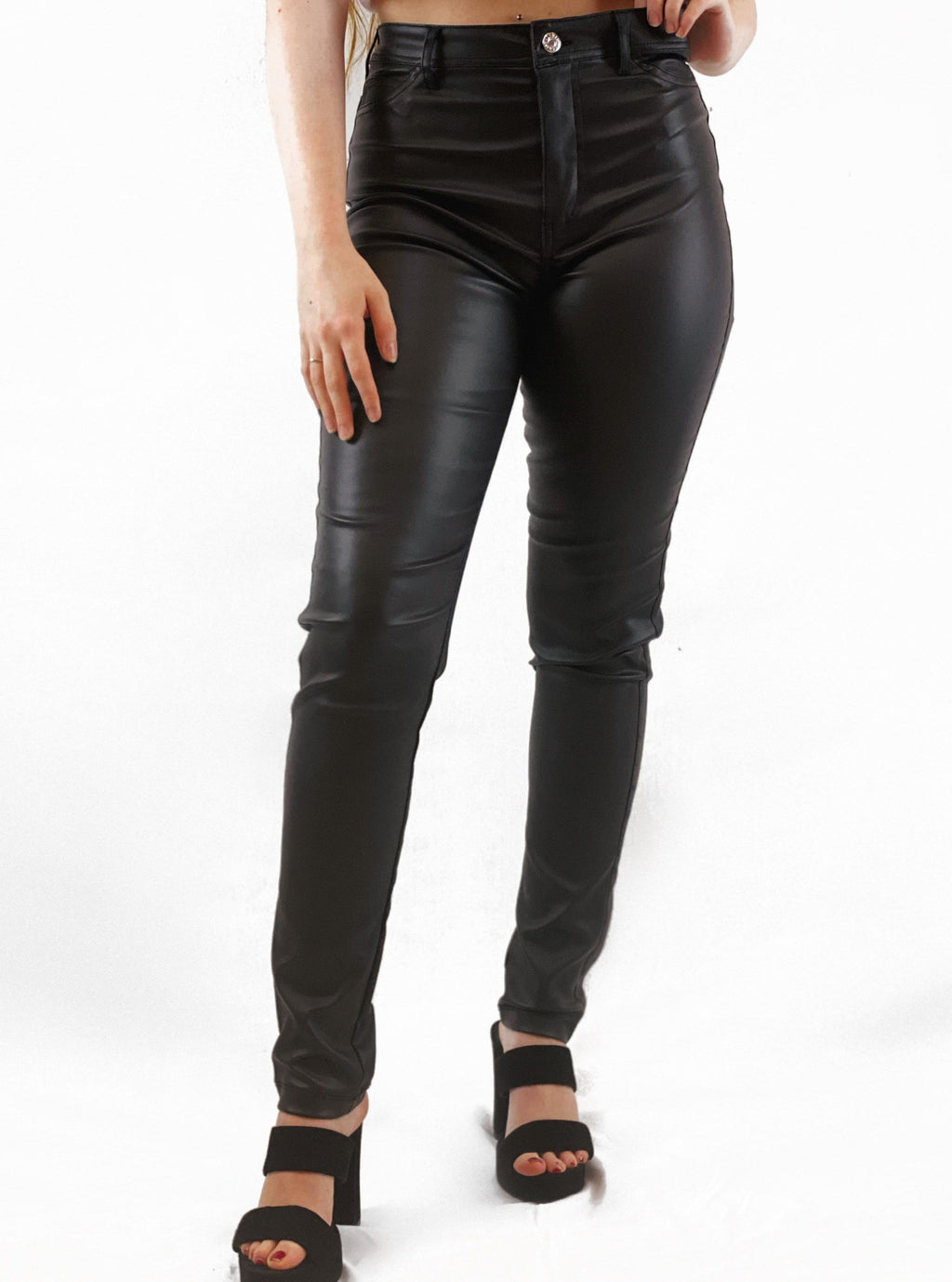 Faux Leather Pants - bigcityboutique