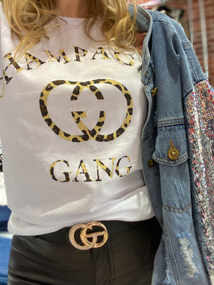 Champagne Gang Graphic Tee
