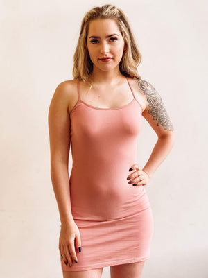 Sweet Side Cami Dress -Blossom Pink