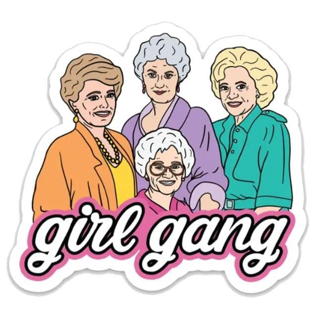Sticker - Girl Gang