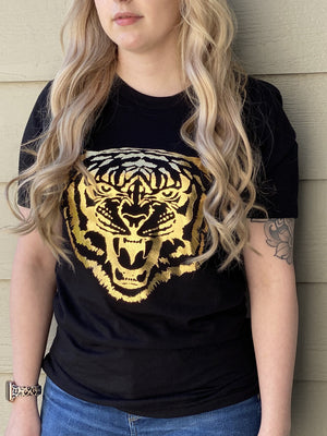 Eye of the Tiger Tee - Black