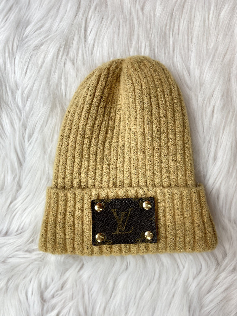 Louis Vuitton Beanie - Mustard