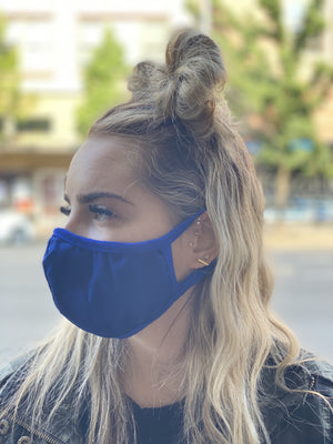 Washable & Reusable Mask - Blue