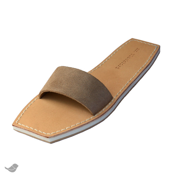 Straight Leather Sandals