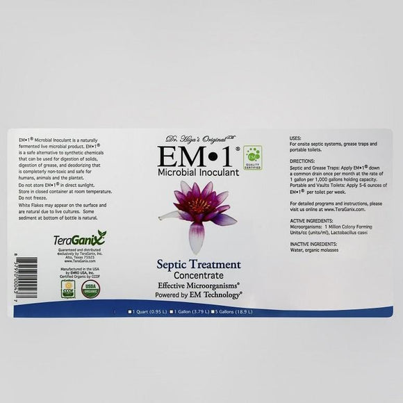 Case of EM-1 Septic Treatment (12 bottles per case)