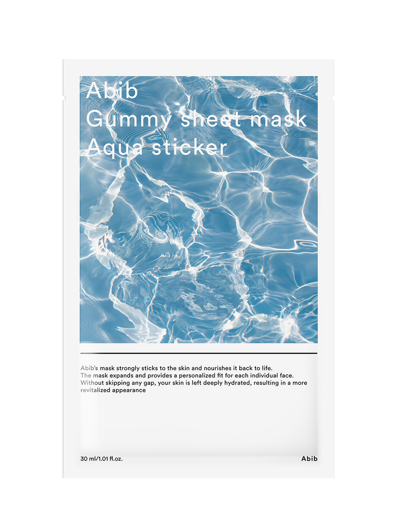 Gummy Sheet Mask Aqua Sticker 30ml