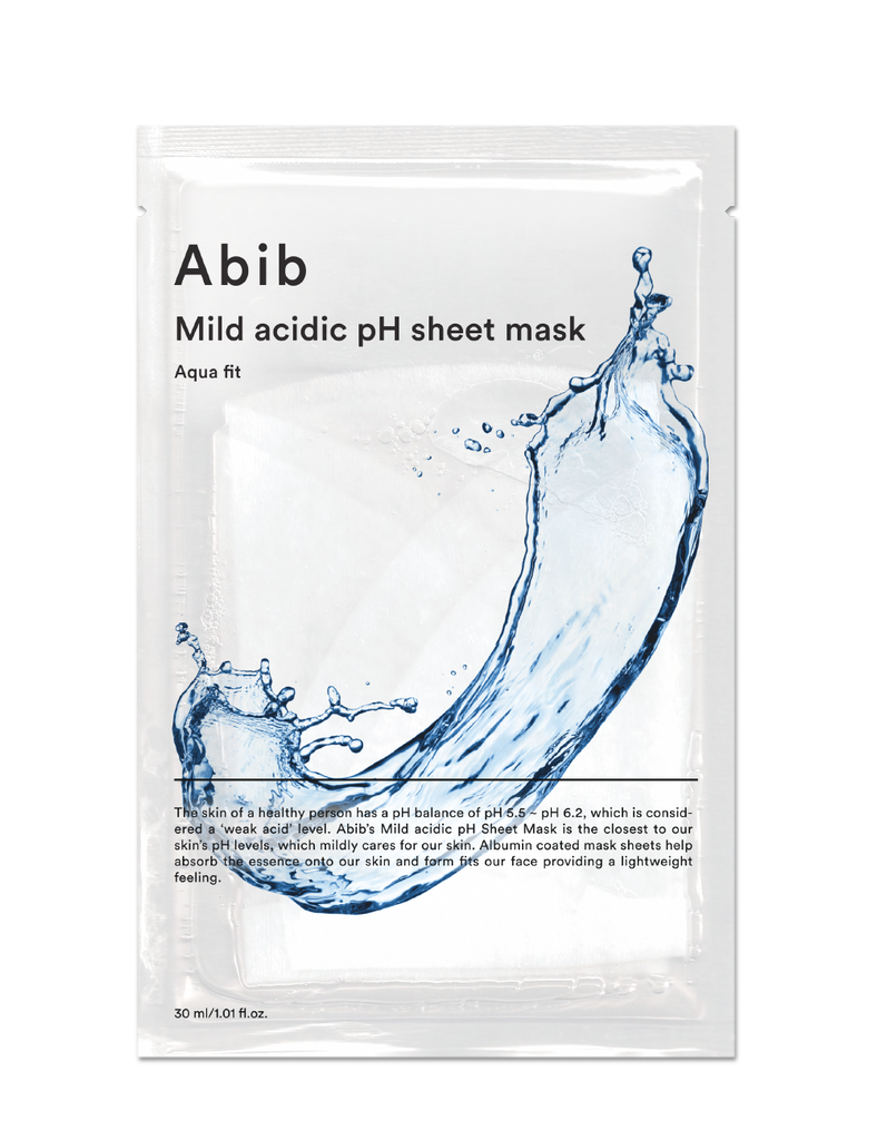 Mild Acidic Ph Sheet Mask Aqua Fit 30ml