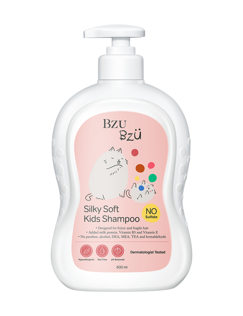 Silky Soft Kids Shampoo 600ml