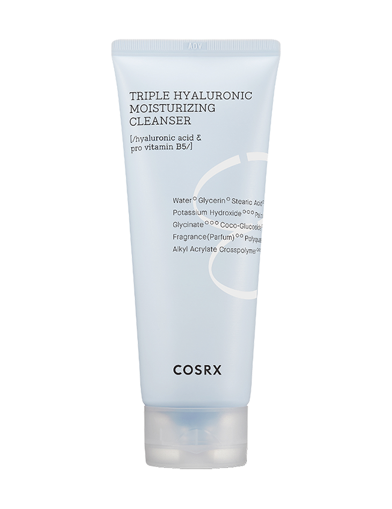 Hydrium Triple Hyaluronic Moisturizing Cleanser 150ml
