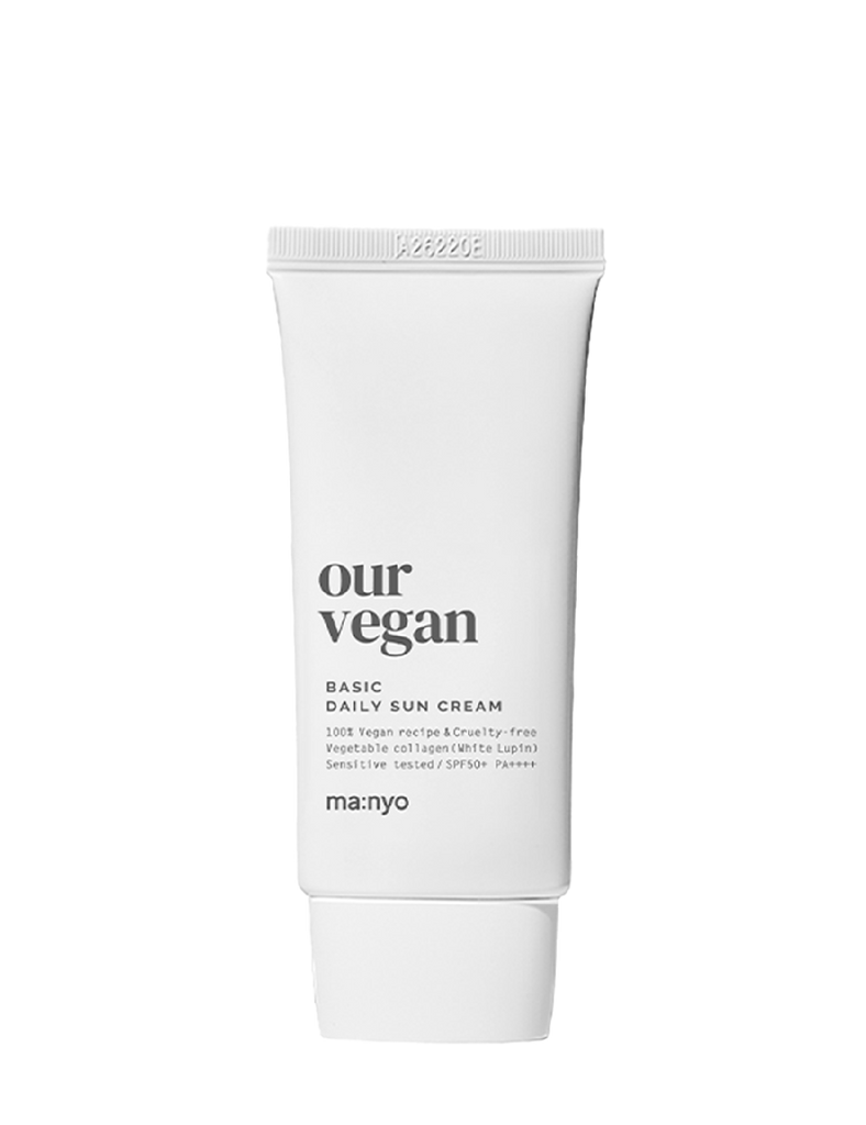 Our Vegan Sun Cream Basic 50ml