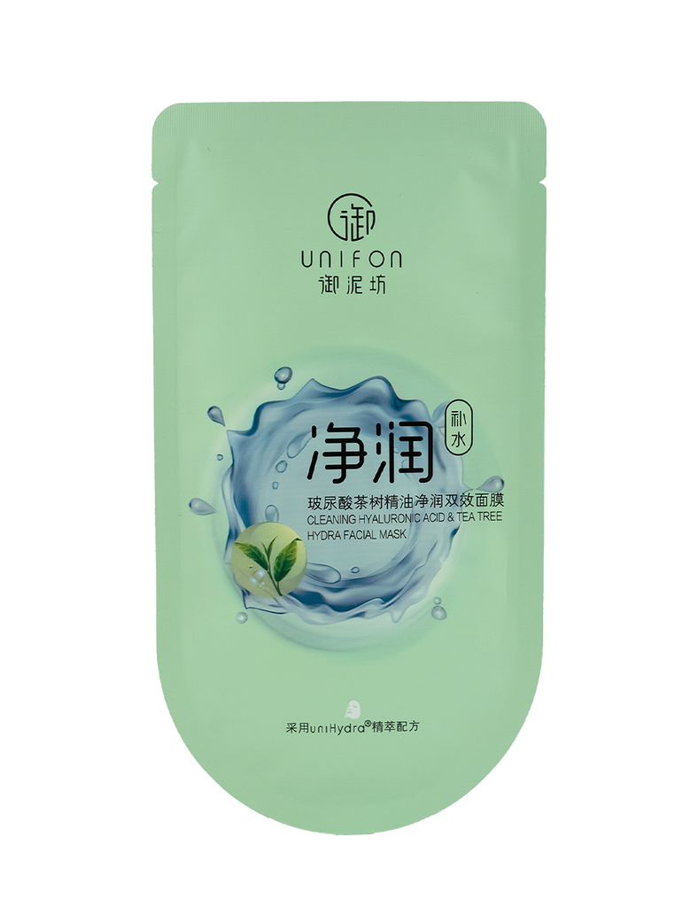 Cleaning Hyaluronic Acid & Tea Tree Hydra Facial Mask 30ml