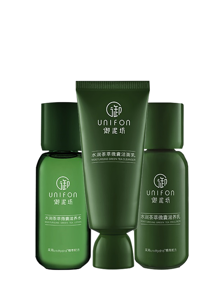 Moisturizing Green Tea Set 3-in-1 Set