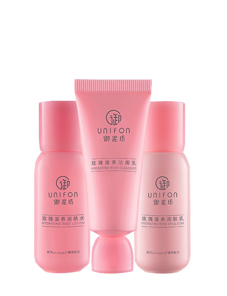 Hydrating Rose Set 3-in-1 Set