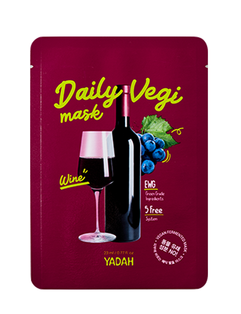 Daily Vegi Mask - Wine 1pc