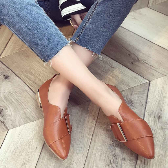Summer Shoes  Platform Women British  Womens Beautiful Brown  Loafers Shoes Spring Shoes Sandels Rome Heel Casual Shoes