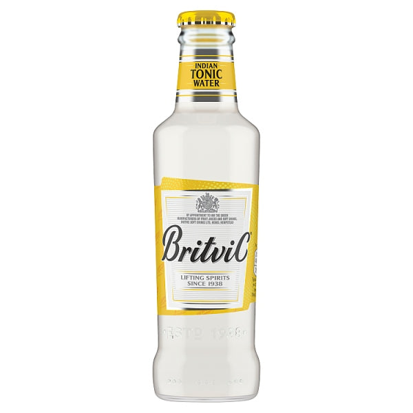 Britvic Indian Tonic Water 200ml case x 24