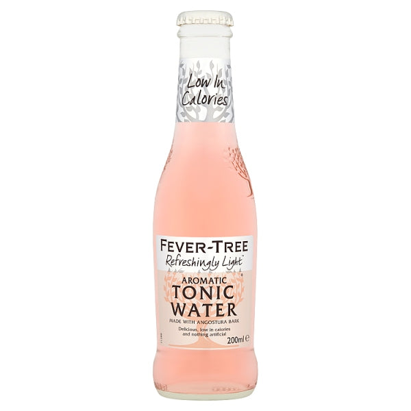 Fever-Tree Refreshingly Light Aromatic Tonic Water 4 x 200ml