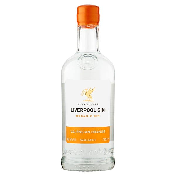 Liverpool Gin Organic Gin Valencian Orange 70cl