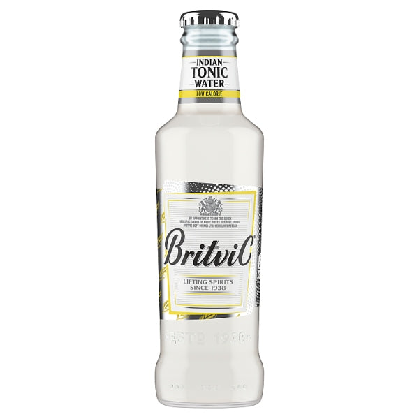 Britvic Indian Tonic Water Low Calorie 4 x 200ml