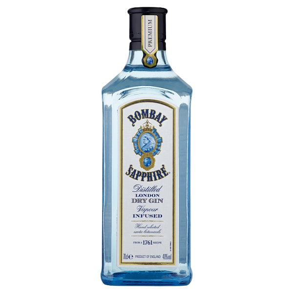 Bombay Sapphire Gin 70cl with 2 Free Bombay Sapphire Gin Balloons