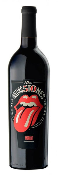 Rolling Stones Forty Licks Merlot 2014