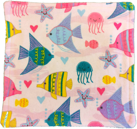 Cloth Wipes - Hemmed Towel Backing