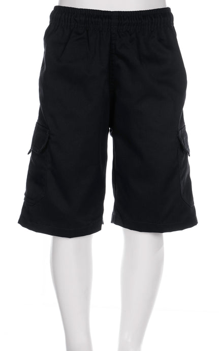 Riverhead School - Cargo Shorts Black