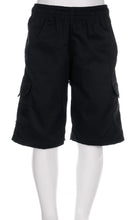 Load image into Gallery viewer, Silverdale School - Cargo Shorts Black