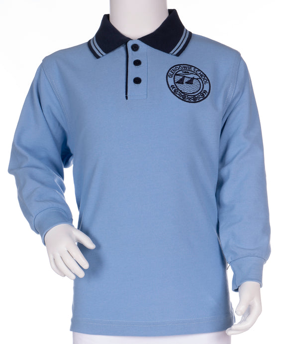 Glendowie School - Long Sleeve Polo Shirt