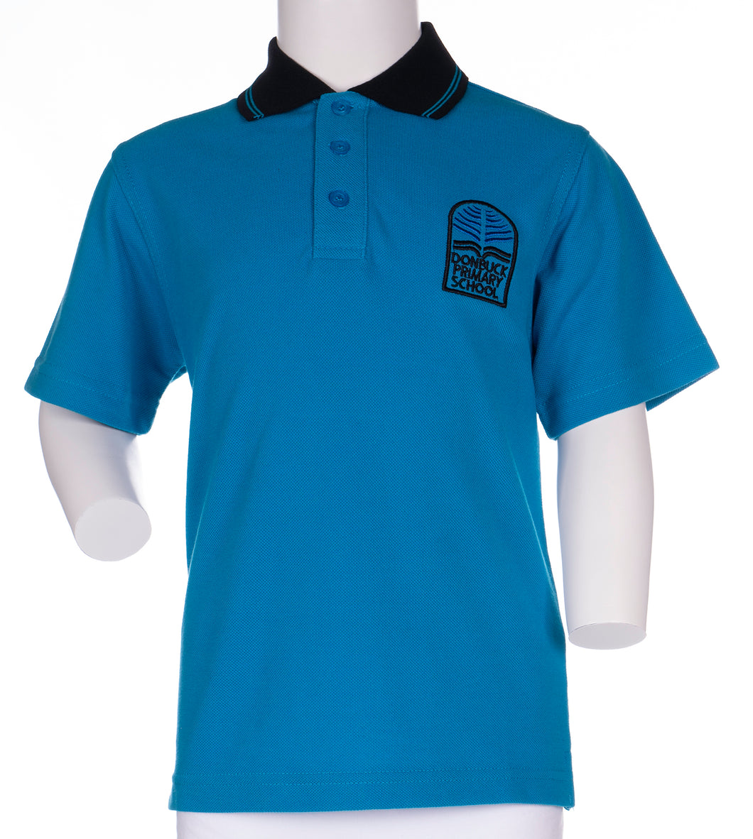 Don Buck Primary School - Short Sleeve Polo Shirt