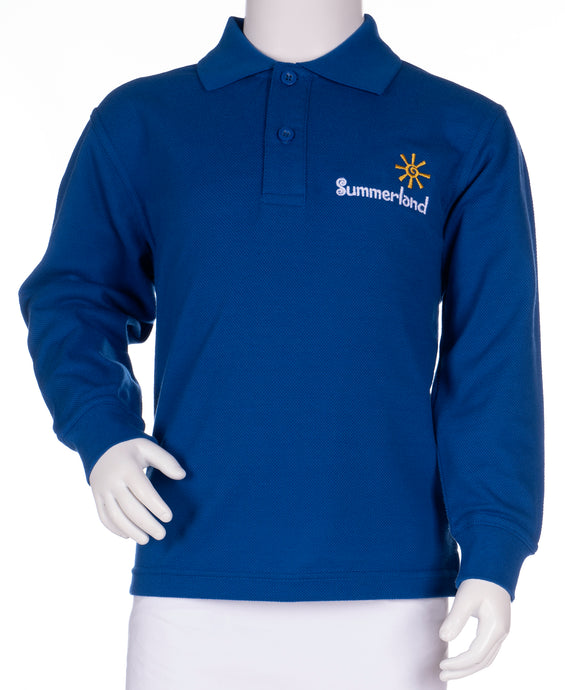Summerland Primary School - Long Sleeve Polo Shirt
