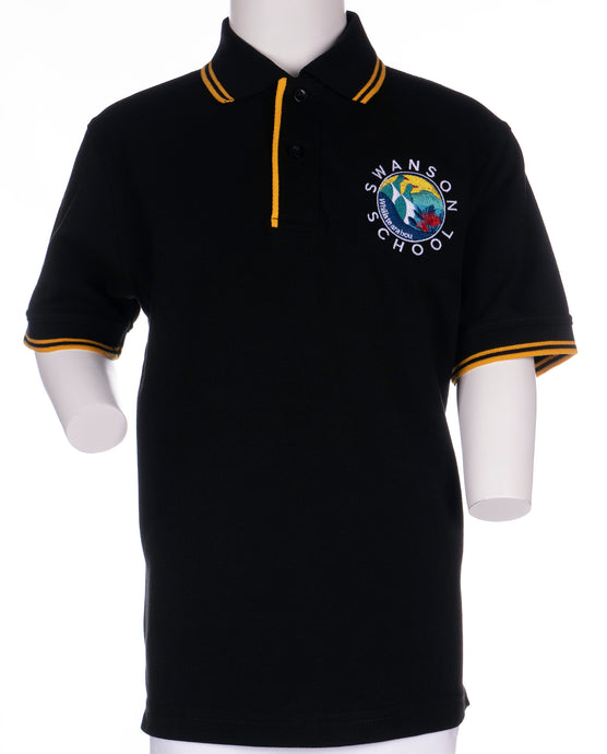 Swanson Primary School - Senior Short Sleeve Polo Shirt