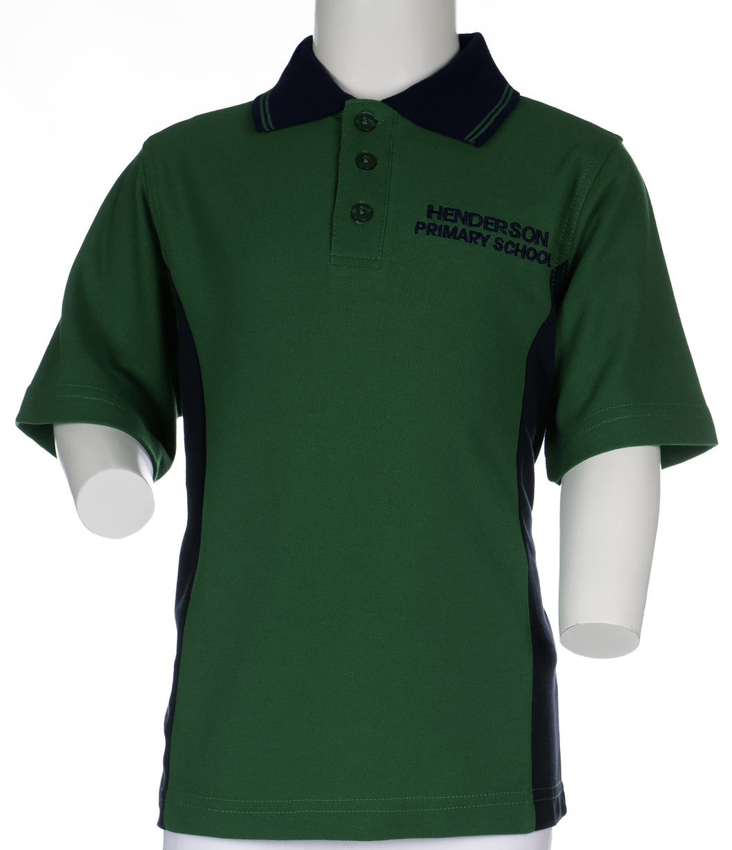 Henderson Primary School - Short Sleeve Polo Shirt