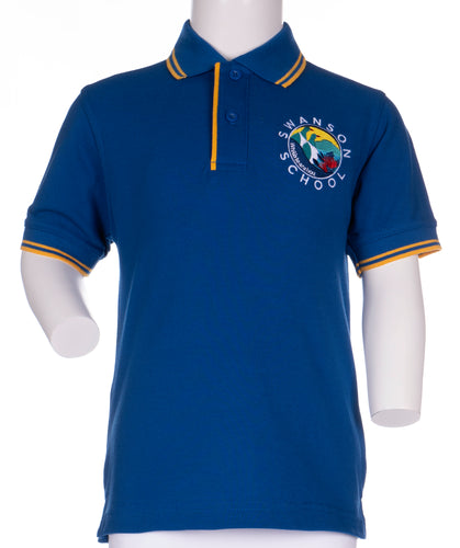 Swanson Primary School - Junior Short Sleeve Polo Shirt
