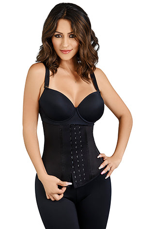 WAIST TRAINER COLOMBIAN FAJA - Black
