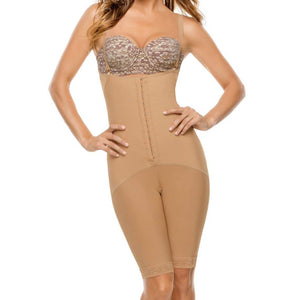 Adjustable Body Shaper With Latex Control